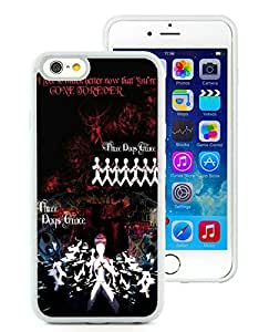 iPhone 6 4.7 inches Three Days Grace (4) White Screen TPU Phone Case Genuine and Newest Design