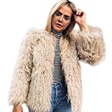 Women'S Faux Fur Coat Clearance plus size Warm