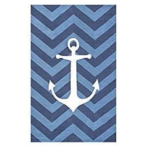 51WwVyD2iUL._SS300_ Best Nautical Rugs and Nautical Area Rugs
