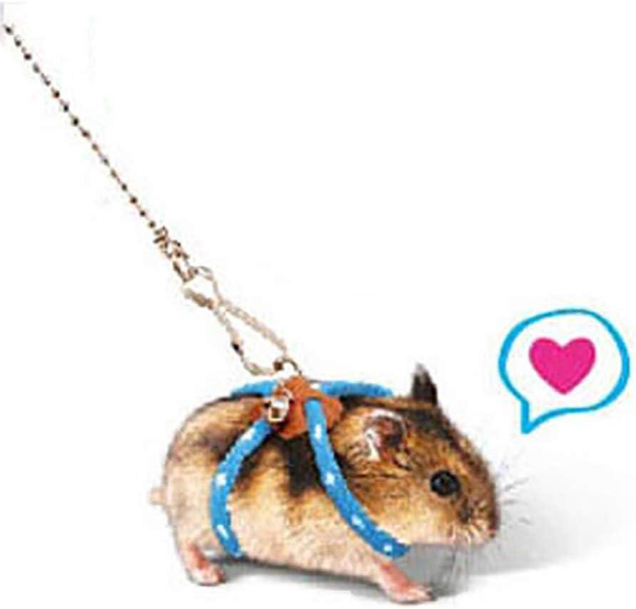 Beito Pet Rat Mouse Leash Arnés de Cables Ajustable Cuerda ...