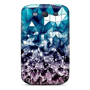 Galaxy S3 Tesselation Print High Quality Tpu Gel Frame Case Cover