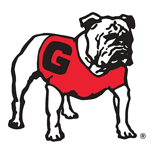 Craftique University of Georgia Standing Bulldog 12 Inch Decal