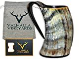 Viking Cup Drinking Horn Tankard - Authentic Medieval Inspired Mug