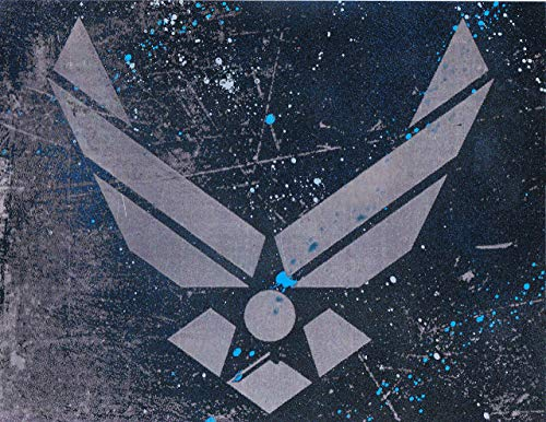 Air Force USAF Logo Symbol Metal Art ()