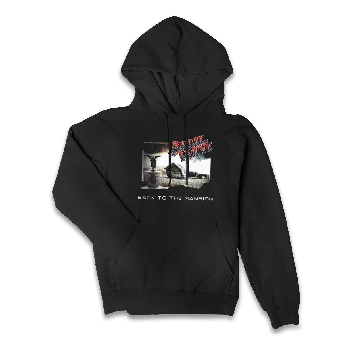 Erman Color Name Comfortable April Wine Pullover Hooded Shirts With Pocket S