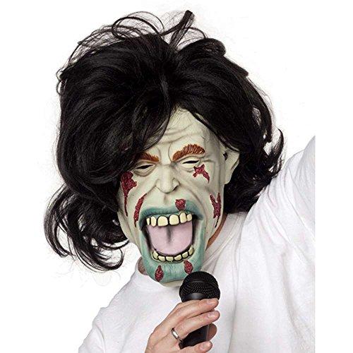 Rock Zombie Mask Costume Accessory -