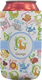 Animal Alphabet Can Sleeve (12 oz) (Personalized)