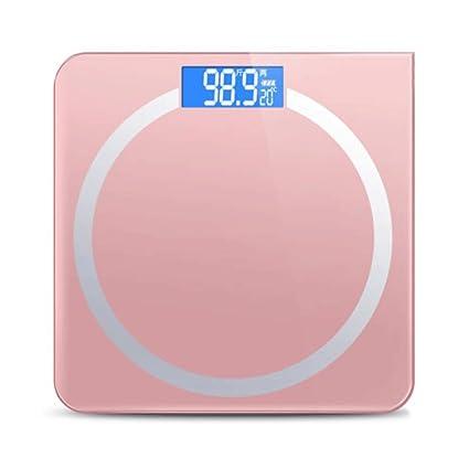 odefc Escalas electrónicas de pesaje de precisión de salud del hogar escalas humanas dispositivo de pesaje