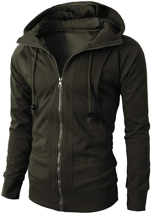 Men Women Hoodies Slim Fit Hooded Sweatshirt Outwear Sweater Warm Coat Jacket