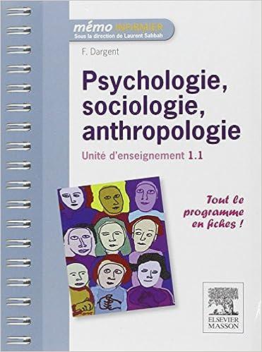Livres gratuits Psychologie, sociologie, anthropologie - UE 1.1 pdf, epub ebook