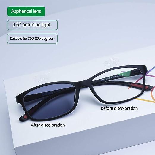Gafas con Filtro de luz Azul Bloqueo de luz Azul-Gafas Neutras ...