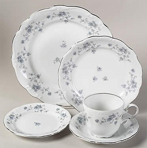 JOHANN HAVILAND BLUE GARLAND 20 PIECE DINNER PLACE SETTING (NWBOX. MADE IN GERMANY) (Place Haviland)