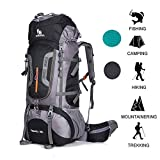 ONEPACK 80L Internal Frame Hiking Backpack for Women and...