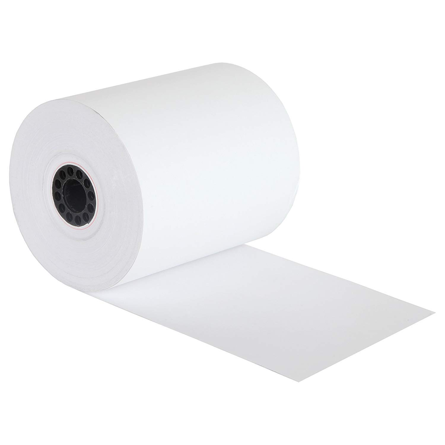FHS Retail 3 1/8'' x 230' Thermal Receipt Paper Rolls (50 Rolls) - for Most Receipt Printers, POS Systems, and Cash Registers