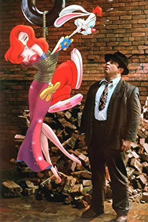 Who framed Roger Rabbit Movie Poster 24x36