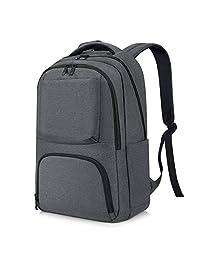 College Backpack, REYLEO Water Resistant Computer Backpack Lightweight Travel Bag Fit 15.6 Inch Laptops & Tablets Large Outdoor backapck