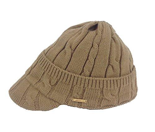 Michael Kors Women s Peak Cable-knit Cap Hat be47f6fd526