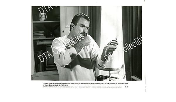 Movie Photo Her Alibi 8x10 Promo Still Tom Selleck Comedy Crime