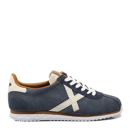 Munich Sapporo 46 Azul Zapatilla Hombre: Amazon.es: Zapatos y complementos