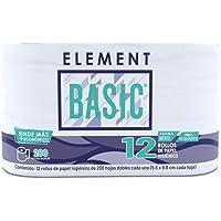 Element Basic Papel Higiénico, De 200 Hojas Dobles