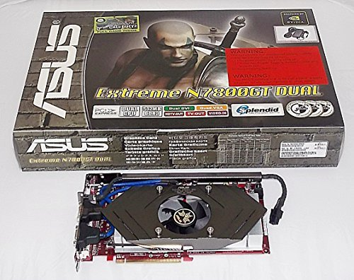NEW ASUS EN7800GT DUAL/2DHTV/512M Dual NVIDIA GeForce 7800GT 512MB 256-bit GDDR3 PCI-Express x16 HDCP SLI VIVO Dual-Core Video Card w/2DVI, 2D-Sub, HDTV (3D Games Bundled) (Nview Multi Display)