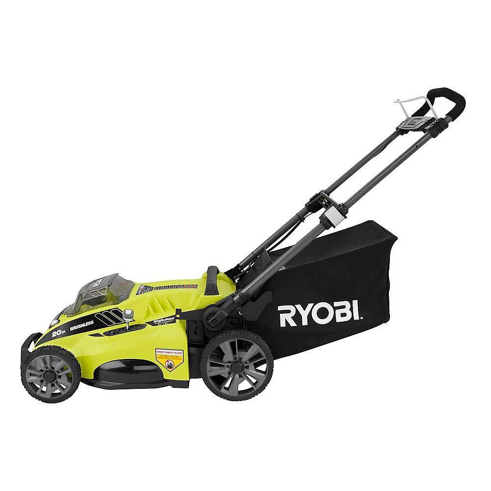 Ryobi ry40180 40 V sin escobillas litio eléctrico inalámbrico ...