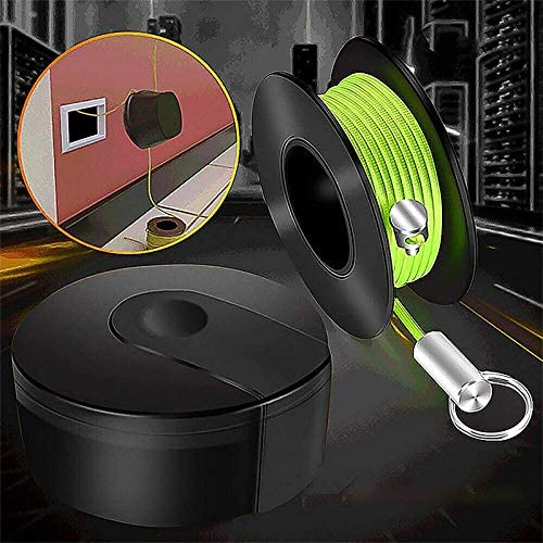 Magnetic Tape Cable for Fish Tape Wiremag Puller Magnetic Snap Wire Guider Practical Electricians Threading Device Magnetic Cable Fishing Equipment MUFENA Wiremag Puller