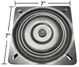 7'' Replacement Bar Stool Swivel Plate - Made in the USA - S4697