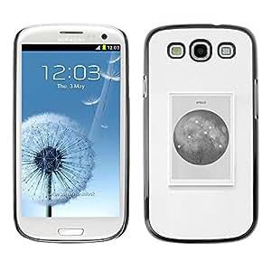 LECELL--Funda protectora / Cubierta / Piel For Samsung Galaxy S3 I9300 -- Universe Map Stars Black Poster Art --