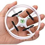 NiGHT LiONS TECH X615 Super Durable Mini drone 2.4GHz 4 Axis Gyro RC Quadcopter for Beginners/kid (white)