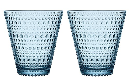 Iittala Kastehelmi Tumbler, Light Blue, Set of Two
