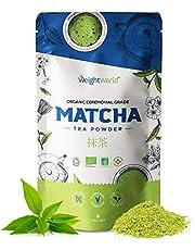 Bioloigsch Matcha Poeder - Groene thee van ceremoni毛le kwaliteit uit Japan - 100% Gecertificeerd Bio - Vrij van toevoegingen