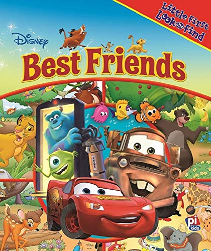 Disney - Lion King, Cars, and More! Best Friends Little First Look and Find - PI Kids
