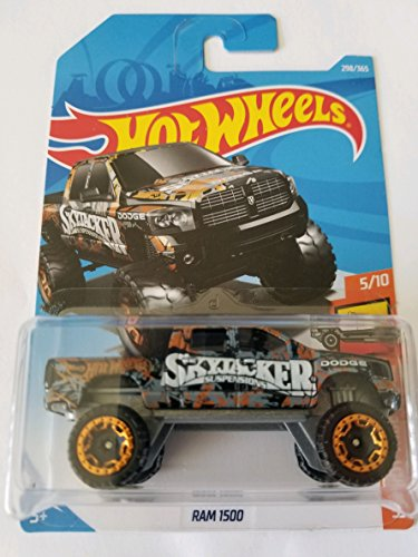 Hot Wheels 2018 Hw Hot Trucks 5/10 - Dodge Ram 1500 - Dodge Wheels Ram Hot