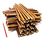 ValueBull All Natural 12 Inch Medium Bully Sticks for Dogs, 100 Count