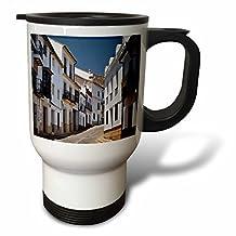 Danita Delimont - Roads - Spain, Andalusia, Malaga Province, Ronda. Street scene in Ronda. - 14oz Stainless Steel Travel Mug (tm_206399_1)