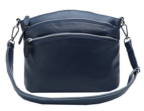 Purses Handbags Small Bags Satchel Leather Ladies Handbag for Crossbody Designer Womens Heshe Blue Bag and Shoulder qwAAC7