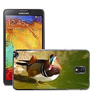 Etui Housse Coque de Protection Cover Rigide pour // M00135054 Pato Agua Pájaros Naturaleza Pond // Samsung Galaxy Note 3 III N9000 N9002 N9005