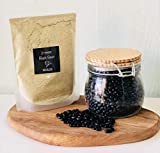 [ Amu Nutrition superfood ] Mongolian Roasted Black Beans Powder   198gr  Hair Regrowth and Energizing/Anti-Aging, 熟 黑豆粉