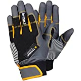 Ejendals 9185-7 Size 7 Tegera 9185 Impact-Reducing Glove - Black/Grey/Yellow by Ejendals