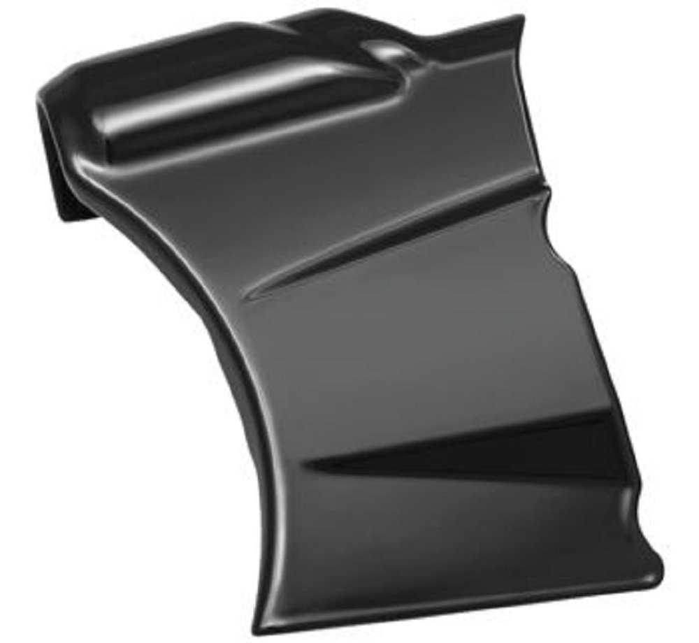 Kuryakyn Gloss Black Oil Line Cover - 6461 For Harley-Davidson 2018 Softail Models by Kuryakyn