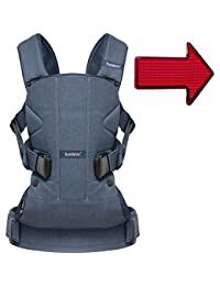 Baby Bjorn Baby Carrier One Classic with FREE Safety Reflector - Denim/Midnight Blue BOBEBE Online Baby Store From New York to Miami and Los Angeles