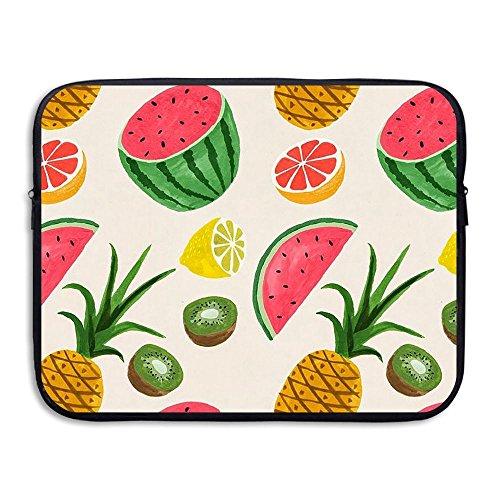 CHERINA RHEA Computer Bag Laptop Case Sleeve Bag Fruit Watermelon Waterproof 13-15 Inch For IPad Air Macbook Pro Surface Book Notebook Ultrabook ()