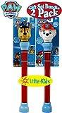 Little Kids Paw Patrol Water Blasters Chase & Marshall Gift Set Battle Bundle - 2 Pack