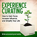 Experience Curating: How to Gain Focus, Increase Influence, and Simplify Your Life Audiobook by Joel Zaslofsky Narrated by Joel Zaslofsky