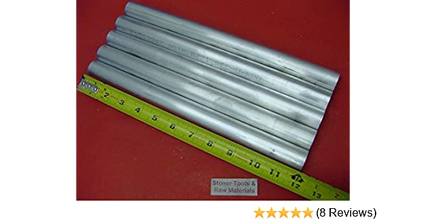 "8 pieces 1-1//2/"" ALUMINUM 6061 ROUND BAR 1.25/"" LONG T6511 Solid Rod Lathe Stock"