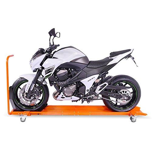Max Orange 450 kg Range Moto avec Bloque Roue Yamaha T-Max 530 ConStands Smart Mover