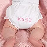 Personalized Diaper Cover Baby Bloomers Embroidered
