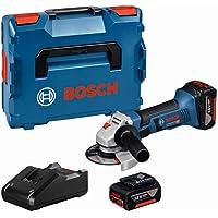 Bosch Professional GWS 18-125 V-LI - Amoladora angular para metal a batería (2…