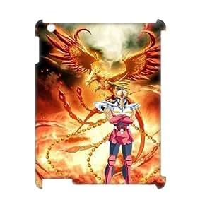 LSQDIY(R) Saint Seiya iPad2,3,4 Customized 3D Case, Unique iPad2,3,4 Durable 3D Case Saint Seiya